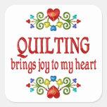 Quilting Joy Sticker