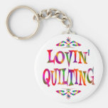 Quilting Lover Key Chain