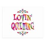 Quilting Lover Postcard