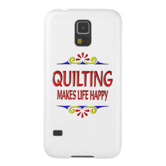 Quilting Makes Life Happy Galaxy S5 Cases