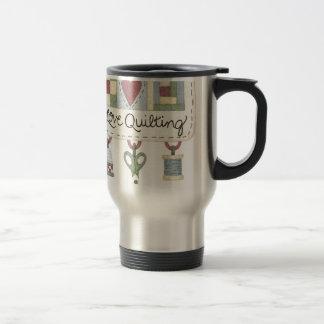 Quilting merchandise travel mug