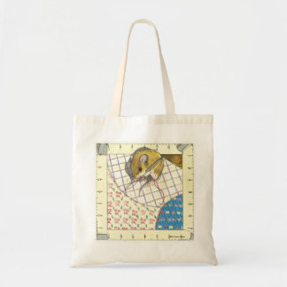 Quilting Mouse Tote Bag