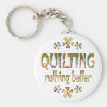 Quilting Nothing Better Keychains