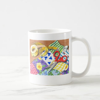 Quilting Notions Coffee Mug