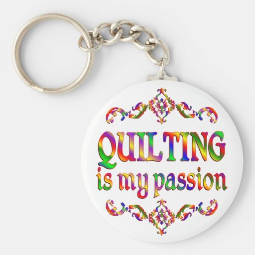 Quilting Passion Key Chain