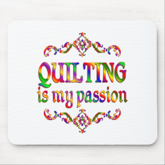Quilting Passion Mouse Pad