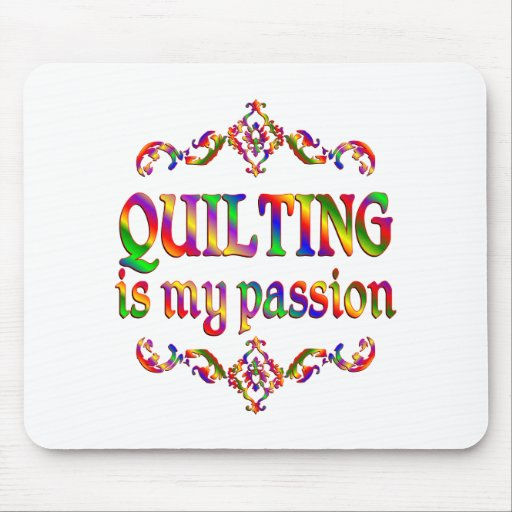 Quilting Passion Mousepads