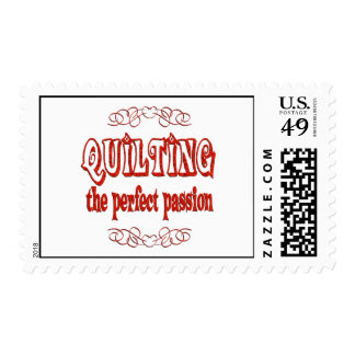 Quilting Passion Postage