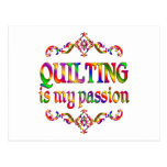 Quilting Passion Postcard