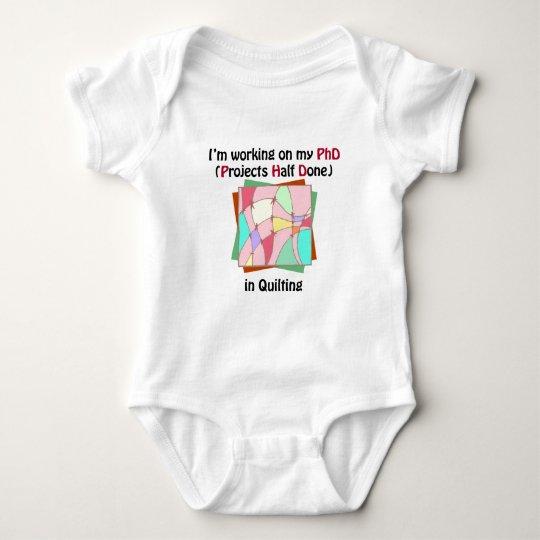Quilting PhD Baby Bodysuit