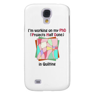 Quilting PhD Galaxy S4 Covers