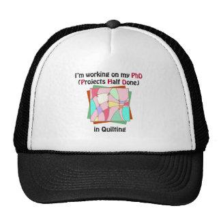 Quilting PhD Trucker Hat