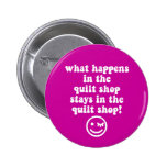quilting pinback buttons