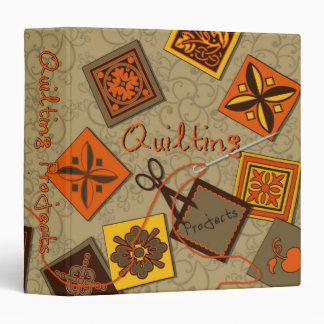 Quilting Projects Binder