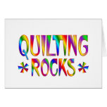 Quilting Rocks Greeting Card