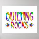 Quilting Rocks Print