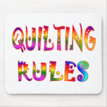 Quilting Rules Mouse Pads
