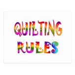 Quilting Rules Post Cards