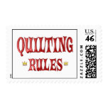 Quilting Rules Stamps