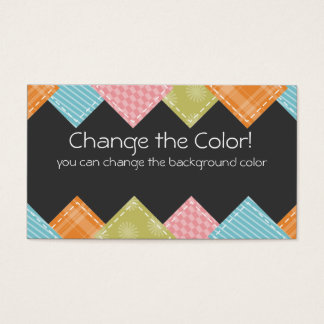 Quilting sewing fabric swatches crafts biz cards