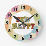 Quilting Sewing Room design Wall Clock