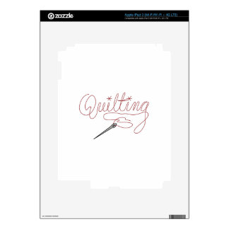 Quilting Skin For iPad 3
