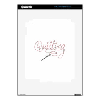 Quilting Skins For iPad 2