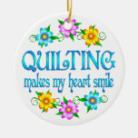Quilting Smiles Christmas Tree Ornament