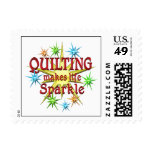 Quilting Sparkles Postage Stamps