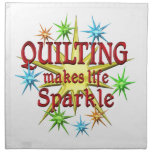 Quilting Sparkles Printed Napkin