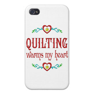 Quilting Warms My Heart iPhone 4 Cover