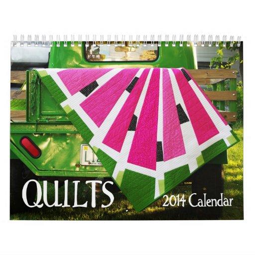 QUILTS 2014 Wall Calendar