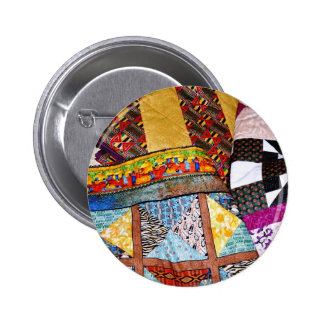 Quilts and Quilting Customizable Pinback Button
