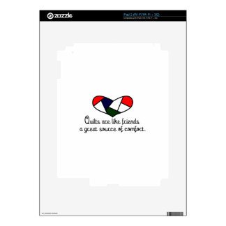Quilts Are Friends Skins For iPad 2