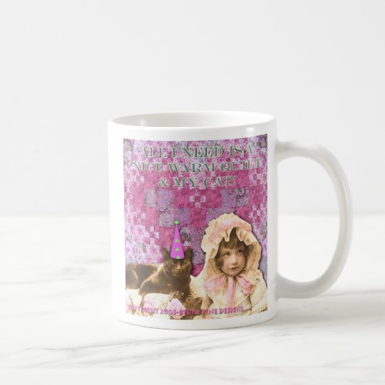 Quilts & Cats Coffee Mug