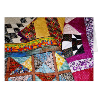 Quilts Customizable Greeting Cards