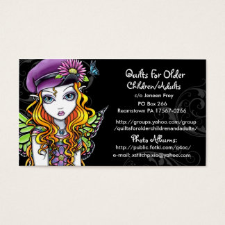 Quilts For Older Children/Adults Custom Order Business Card