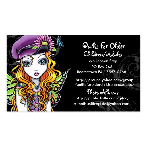 1 000 Quilting Business Cards and Quilting Business Card
