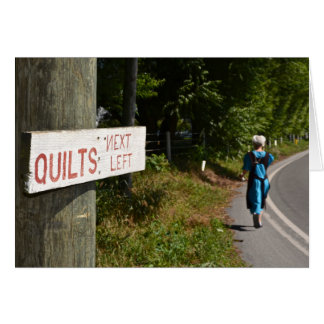 Quilts Next Left Greeting Cards