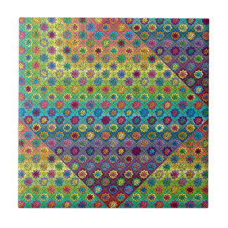 Quilty as Charged Ceramic Tile
