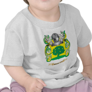 Quilty Coat of Arms (Family Crest) T-shirts