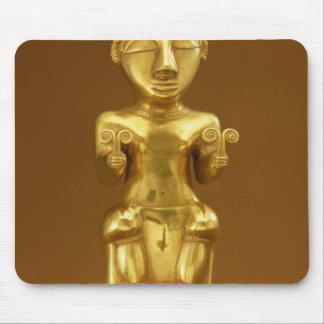 Quimbaya lime flask, from Colombia Mouse Pad