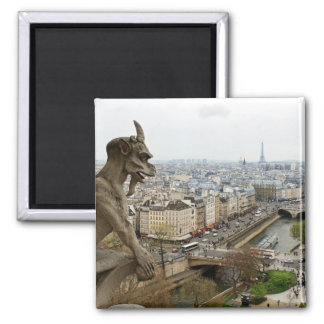 Quimera del Notre Dame de Paris Imán De Frigorifico