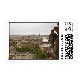 Quimera del Notre Dame de Paris Sellos