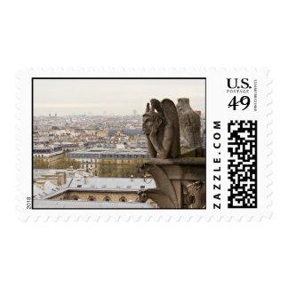 Quimera del Notre Dame de Paris Sello