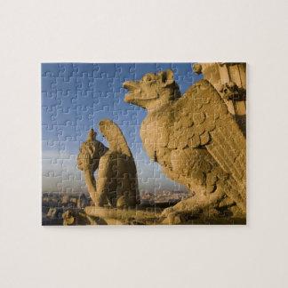 Quimera en la fachada de la catedral de Notre Dame Puzzles