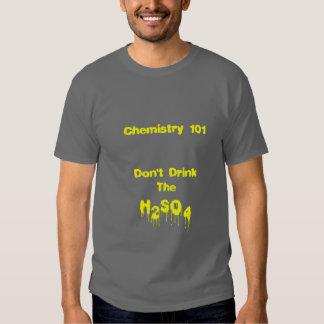 Química 101 playeras