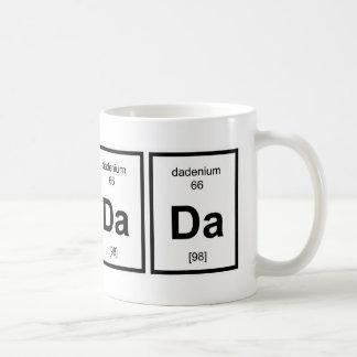 Química 1 del bebé taza básica blanca