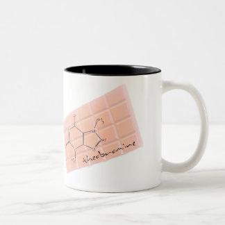 Química 2 del chocolate taza