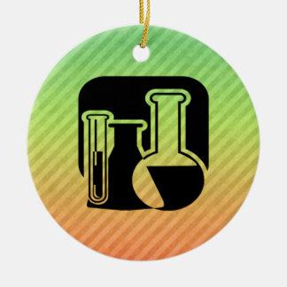 Química Adorno Navideño Redondo De Cerámica